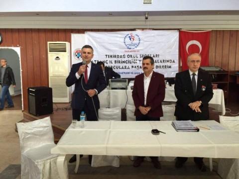 Marmaraereğlisi Belediyesi Tekirdağ 2016 Okul Sporları Okullararası Satranç İl Birinciliği Müsabakasına ev sahipliği yaptı