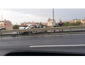 yeğen 1 tatil sitesi önünde trafik kazası-marmaraereğlisi