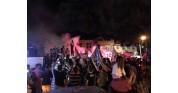 Beşiktaş taraftarlarının coşkulu kutlamasından görüntüler,Marmara ereğlisi