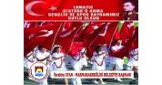 Belediyeden 19 mayıs ATATÜRK'ü anma gençlik ve spor bayramı mesajı