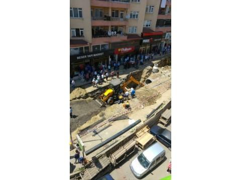Tekirdağ Merkez'de kanal çalışmalarında kaza olmuştur.