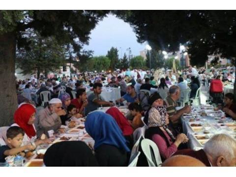 3.000 kişilik iftar yemeği ,Marmara ereğlisi