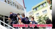 80 Polis Açığa Alındı ! Tekirdağ !