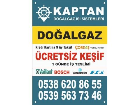 Kaptan Doğalgaz Isı Sistemleri, Marmara ereğlisi doğalgaz