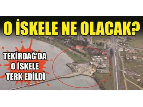 Marmara ereğlisindeki liman aktif hale geliyor