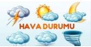 Çevre Koruma ve Kontrol Müdürü Ozan Deniz'in hava tahmin raporu aşağıdaki gibidir