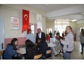 """YÜKSEKOKULUMUZDA """"KAN BAĞIŞI HAYAT KURTARIR"""" SEMİNERİ"""